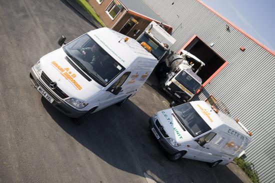 Preston Drains Vehicles